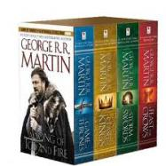 Details for A Song of Ice and Fire, Books 1-4 (Boxed Set)